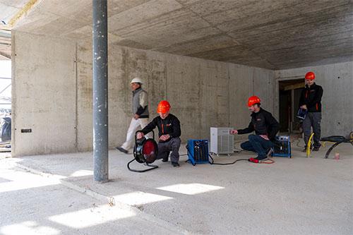 Bautrocknung Dienstleistungen Sansec AG